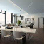 Sitzecke Küche Küche Luxury Modern Apartment Living Room Interior