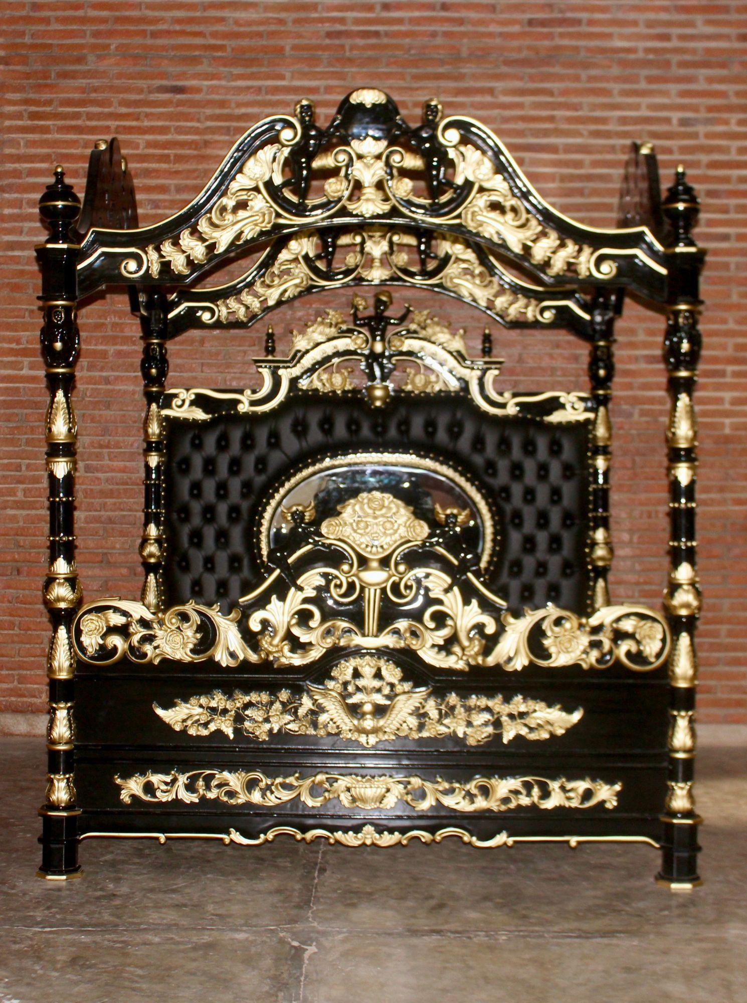 Full Size of Barock Bett Engelhimmelbett Betten Onlineshop Repro Antik Design Buche Ausstellungsstück Paletten 140x200 Nolte Aus Kaufen Massiv Günstig Schlafzimmer Cars Bett Barock Bett