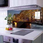 Rückwand Küche Glas Küche Rückwand Küche Glas Kchenrckwand Motiv Kln Banjado Deckenleuchte Hängeschrank Glastüren Wellmann Fliesenspiegel Eckküche Mit Elektrogeräten Vorhang