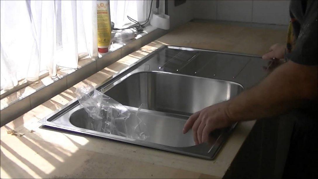 Spülbecken Küche Blanco Stöpsel Moderne Keramik Einbauküche ...
