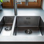 Spüle Küche Küche Spüle Küche Erneuern Spüle Küche Sauber Machen Kunststoff Spüle Küche Schwarze Spüle Küche