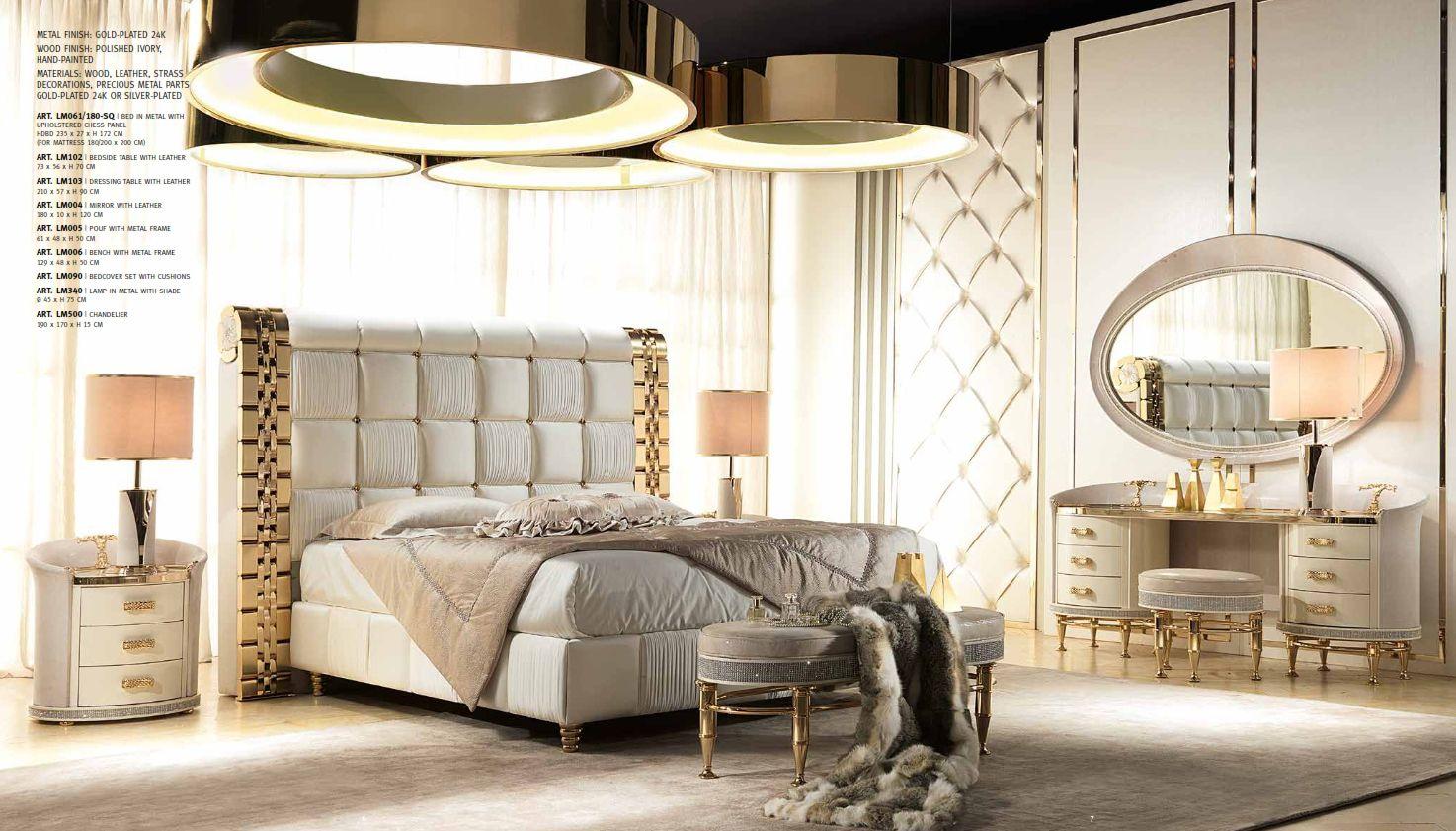 Full Size of Luxus Mbel Schlafzimmer Serie Cappelletti Liliumdie Komplettes Tapeten Deckenleuchte Modern Mit überbau Landhausstil Weiß Weißes Günstige Sofa Set Schlafzimmer Luxus Schlafzimmer