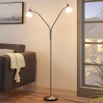 Stehleuchte Wohnzimmer Wohnzimmer Stehleuchte Wohnzimmer Leuchte Ikea Design Stehleuchten Modern Dimmbar Led Lampe Moderne Details Zu Gwendolin 2 Schirme Lampenwelt Leselampe Stehlampe