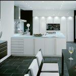 U Form Küche Kche Hochglanz Mit Eiche Furnier Kleines Regal Schubladen Fenster Austauschen Armatur Einbauküche Günstig Bodenbelag Lärmschutz Garten Küche U Form Küche