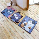 Teppich Für Küche Küche Teppich Für Küche Koreanische Cartoon Katze Serie Schne Tier Muster Kche Miniküche Mit Kühlschrank Armatur Selber Planen Weiss Rollwagen Einbauküche