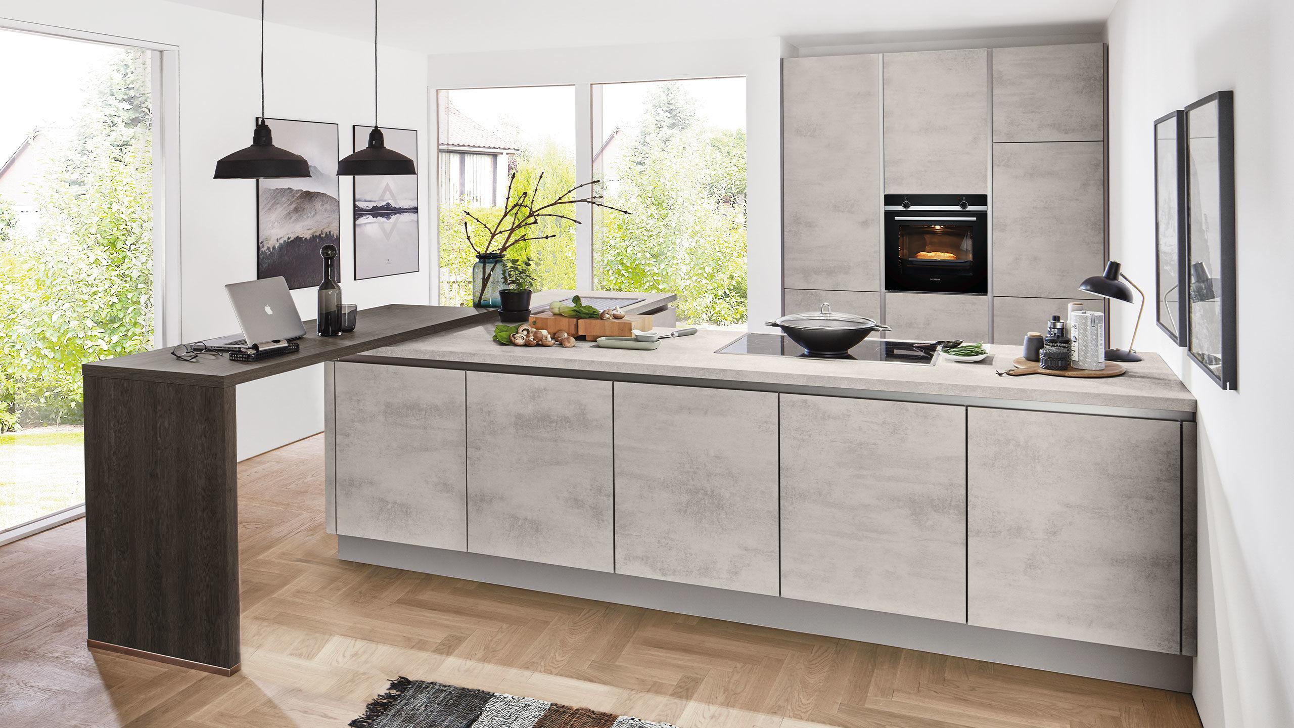 Full Size of Tapete Betonoptik Küche Betonoptik Küche Ikea Betonoptik Putz Küche Betonoptik In Der Küche Küche Betonoptik Küche