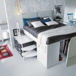 Bett Platzsparend Bett Bett Platzsparend Dieses Platzsparende Ist Auch Ein Begehbarer Schrank Baden Schwarzes Poco Betten Bei Ikea Meise Günstiges Weiß 160x200 Zum Ausziehen