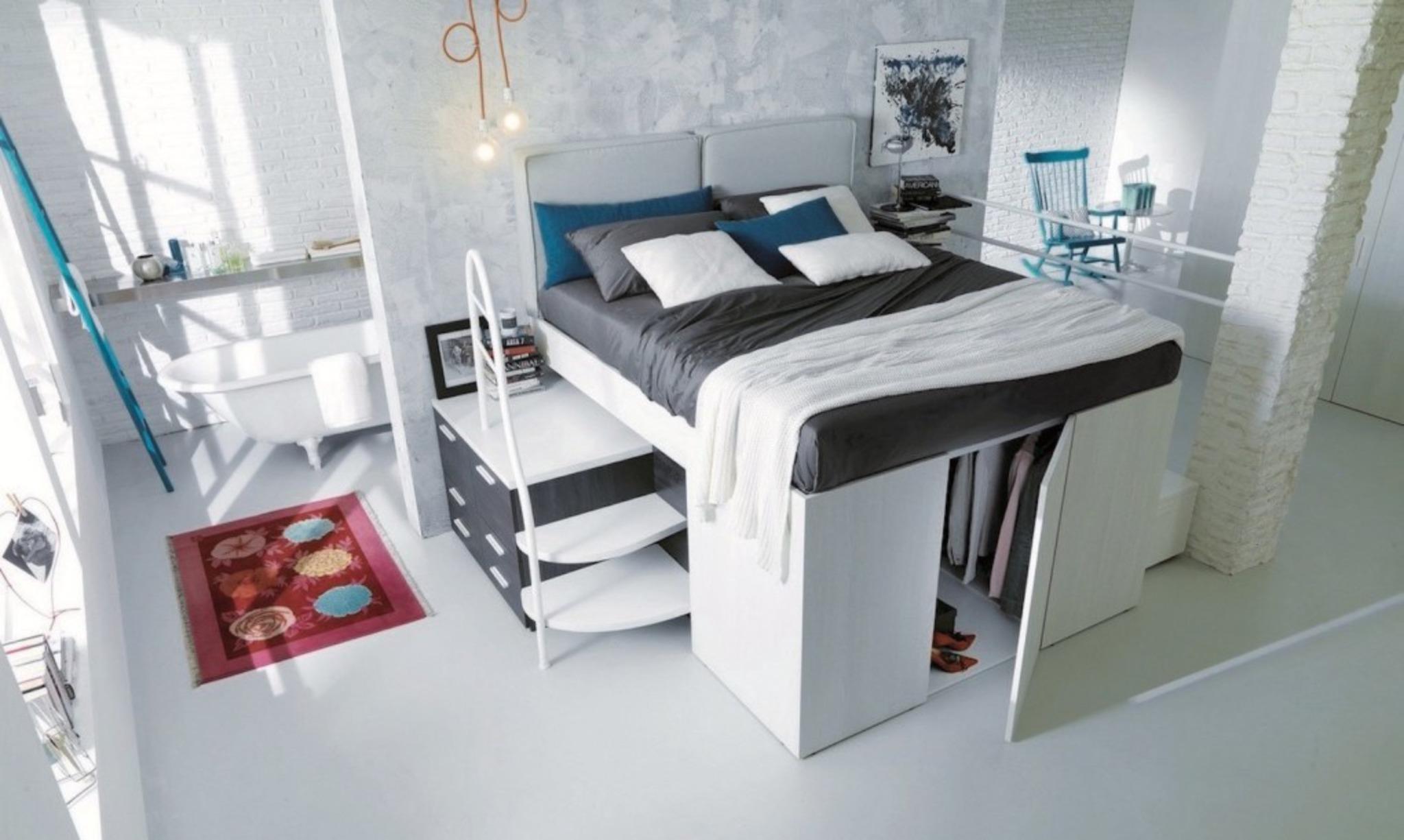 Full Size of Bett Platzsparend Dieses Platzsparende Ist Auch Ein Begehbarer Schrank Baden Schwarzes Poco Betten Bei Ikea Meise Günstiges Weiß 160x200 Zum Ausziehen Bett Bett Platzsparend