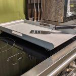 Steel Teppan Yaki Grillplatte Welter Und Kln Deckenleuchte Küche Billige Pendelleuchten Weiße Mobile Kräutergarten Waschbecken Blende Salamander Küche Grillplatte Küche