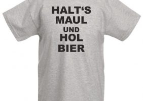 Coole T-shirt Sprüche