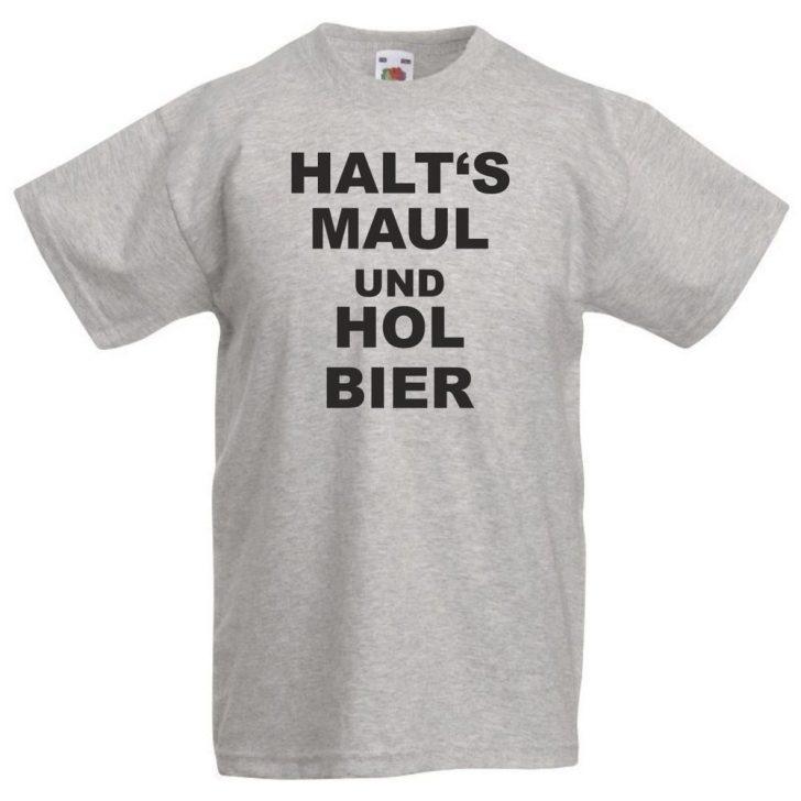 Medium Size of Halts Maul Hol Bier T Shirt Sprüche Männer Lustige Coole Betten T Shirt Jutebeutel Junggesellenabschied Wandsprüche Junggesellinnenabschied Wandtattoos Küche Coole T Shirt Sprüche
