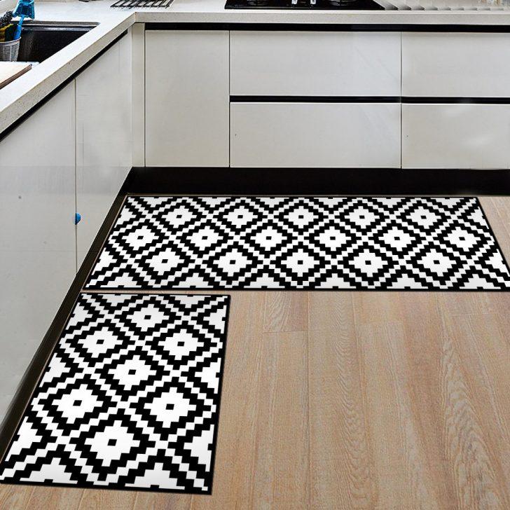 Teppich Küche Pflegeleicht Waschbarer Teppich Küche Teppich Küche Material Teppich Küche Schwarz Weiß Küche Teppich Küche
