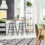 Teppich Küche Küche Kitchen With Rustic Green Chair