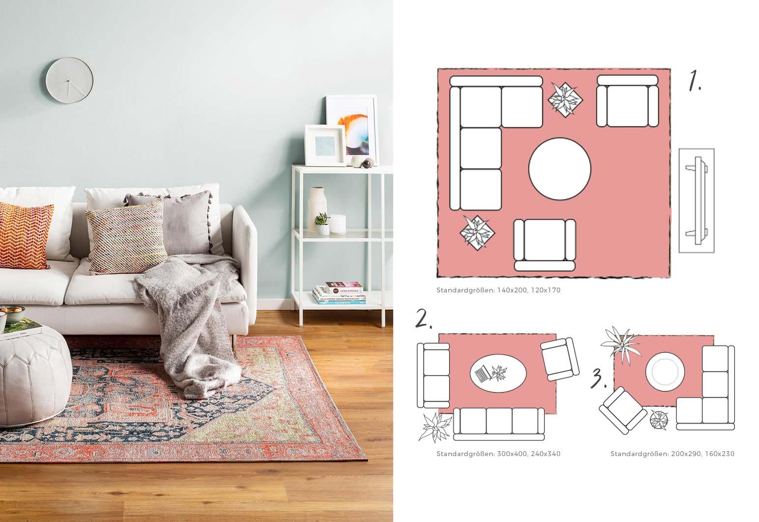 Full Size of Teppich Wohnzimmer Ikea Beige Braun Hochflor Poco Kurzflor Grau Vintage Modern Tipps Blog Teppichgroesse Bestimmen Sideboard Deckenlampen Deckenleuchten Led Wohnzimmer Teppich Wohnzimmer