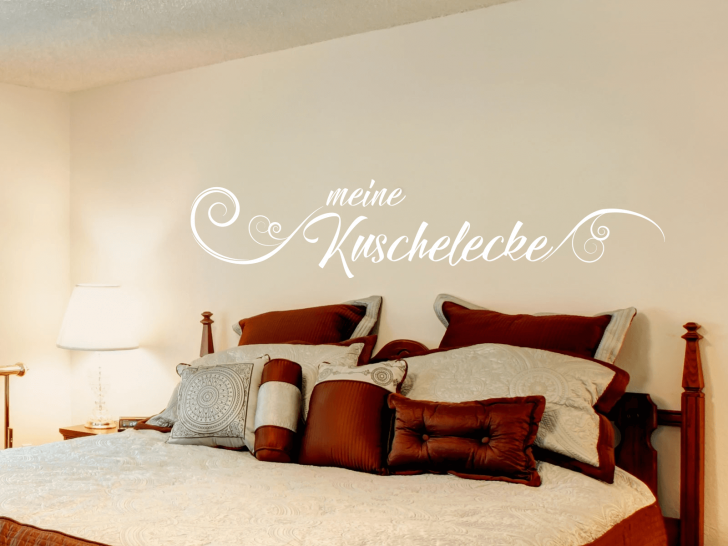 Medium Size of Schlafzimmer Wandtattoo Meine Kuschelecke Schriftzug Wohnzimmer Regal Schrank Led Deckenleuchte Set Mit Matratze Und Lattenrost Sessel Schranksysteme Komplett Schlafzimmer Schlafzimmer Wandtattoo