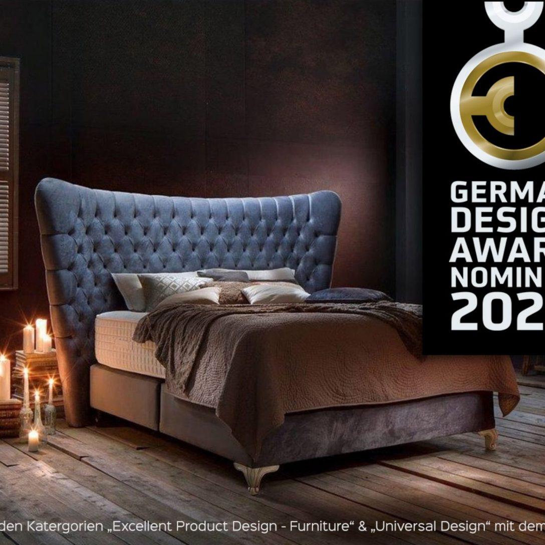 Large Size of Haskinsnominiert Beim German Design Award 2020 Runde Betten Ruf Bett Massivholz Tempur 90x200 Mit Lattenrost Und Matratze Landhausstil Baza Sonoma Eiche Bett Luxus Bett