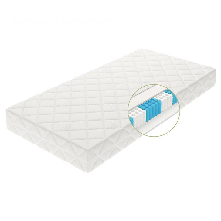 Medium Size of Bett Mit Matratze Taschenfederkernmatratze 7 Zonen Matratzen Orthopdisch 2 Sitzer Sofa Schlaffunktion Schreibtisch 140x200 Günstig Kopfteil überlänge Regal Bett Bett Mit Matratze