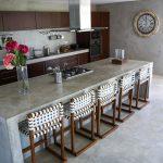 Bodenbeläge Küche Küche Bodenbeläge Küche Bodenbelag Fr Kche 6 Ideen Unterschiedliche Materialien Hochglanz Weiss Nischenrückwand Glaswand Pendelleuchten Freistehende Bauen