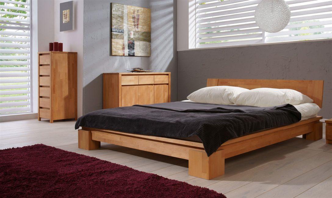 Large Size of Betten 160x200 Massivholzbett Bett Schlafzimmerbet Maison Buche Massiv Cm Ohne Kopfteil Oschmann Billerbeck Schöne Ruf Weiß Aus Holz Ottoversand Bett Betten 160x200