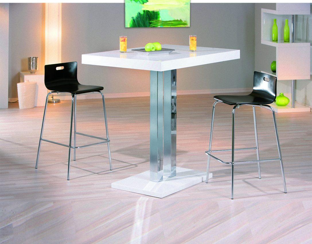 Large Size of Bartisch Palvam Weiss Hochglanz Bar Hochtisch Stehtisch Tisch Laminat In Der Küche Hängeschränke Einbauküche Selber Bauen Eckschrank Kaufen Ikea Küche Tresen Küche