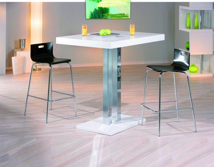 Medium Size of Bartisch Palvam Weiss Hochglanz Bar Hochtisch Stehtisch Tisch Laminat In Der Küche Hängeschränke Einbauküche Selber Bauen Eckschrank Kaufen Ikea Küche Tresen Küche
