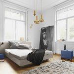 Bett Italienisches Design Modern Puristisch Schlafzimmer Eggers Einrichten Paletten 140x200 Weiß 90x200 Ausziehbar 160x200 180x200 Bettkasten Boxspring Betten Bett Bett Modern Design
