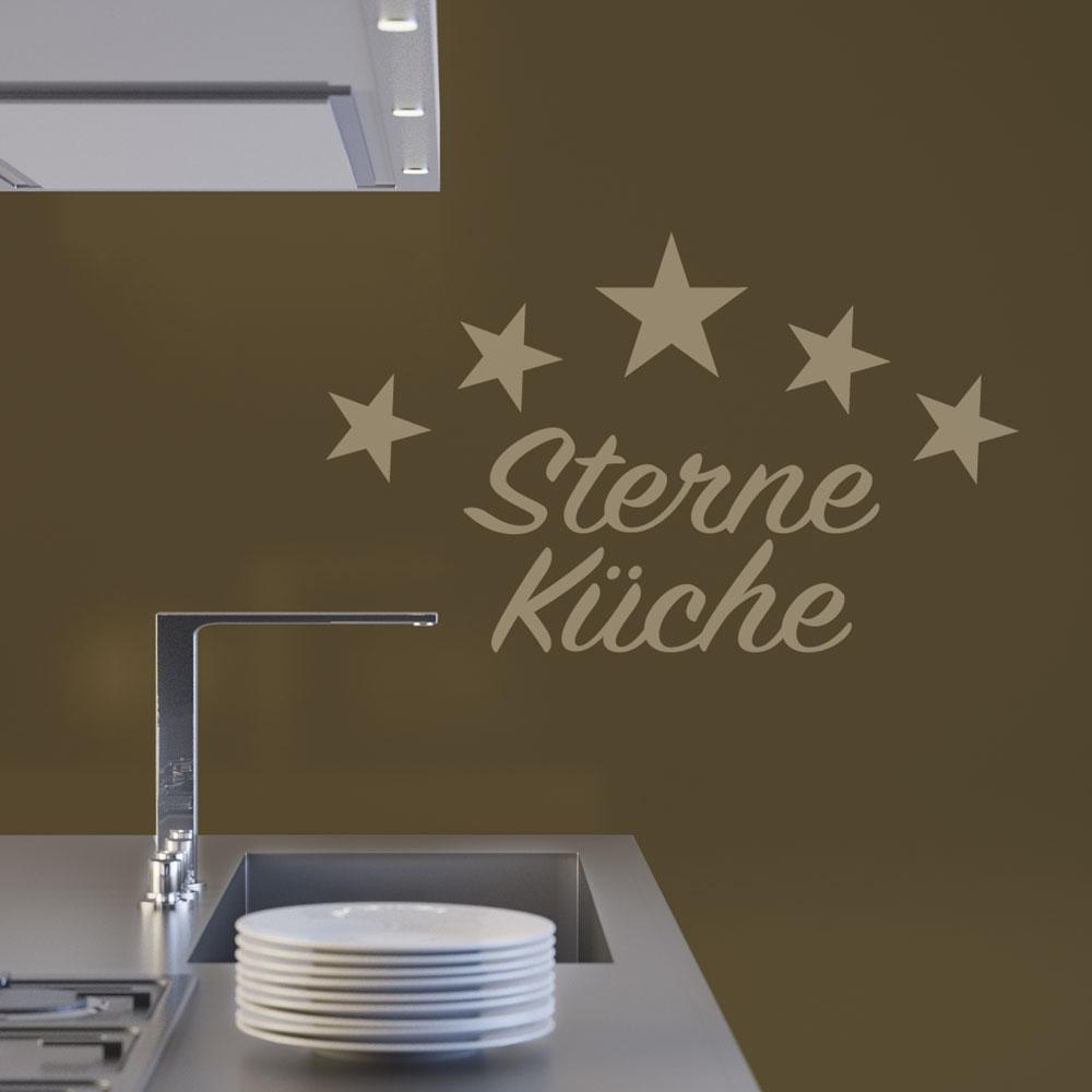 Full Size of Wandtattoo Küche Gourmet Sterne Kche In Vielen Modernen Farben Musterküche Miniküche Mit Kühlschrank Wandsticker Kaufen Tipps Hängeschrank Höhe Ikea Küche Wandtattoo Küche