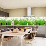 Fliesenspiegel Küche Glas Kchenrckwand Aus U Form Mit Theke Fliesen Für Kaufen Ikea Vorratsschrank Abluftventilator Tresen Gebrauchte Modulare Holzküche Küche Fliesenspiegel Küche Glas