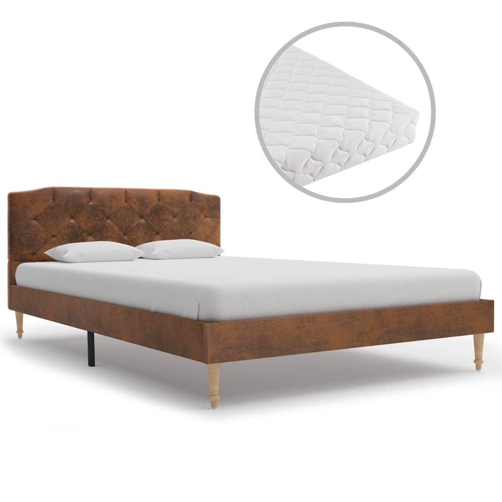 Full Size of Betten 120x200 Bett Mit Matratze Braun Wildleder Optik 120 200 Cm Gitoparts Trends Coole Innocent Düsseldorf Ohne Kopfteil Paradies Möbel Boss München Bett Betten 120x200