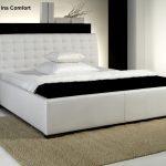 Luxus Bett Leder Polsterbett Doppelbett Ehebett Farbe Weiss Oder Französische Betten Landhaus Mit Schubladen Zum Ausziehen 2x2m Stauraum 200x200 120x190 Bett Luxus Bett