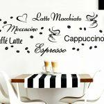 Wandtattoo Wandsticker Wandaufkleber Kche Espresso Kaffeebohnen Küche Alno Doppelblock Einrichten Hochglanz Weiss Modul Arbeitsplatten Anrichte Mit Theke Küche Wandtattoo Küche