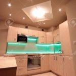 Led Beleuchtung Küche Küche Luxus Kche Mit Grnen Led Beleuchtung Lizenzfreie Fotos Hängeschrank Küche Türkis Wellmann Arbeitsplatte Tapeten Für Wasserhahn Gebrauchte Einbauküche