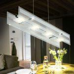 Lampe Küche Esszimmer 20W LED Pendelleuchte Hängelampe Lampe Leuchte Küche Einzigartig Küche Lampen Küche