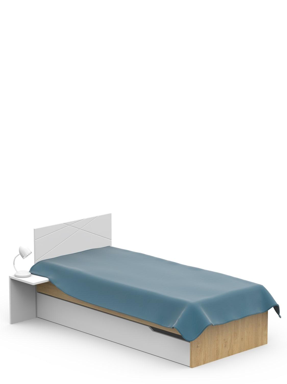 Full Size of Bett 120x200 Oak Meblik Günstig Kaufen 140x200 Mit Stauraum Sitzbank Bettkasten 180x200 Hülsta Boxspring Matratze Und Lattenrost Selber Bauen Weißes Grau Bett Bett 120x200