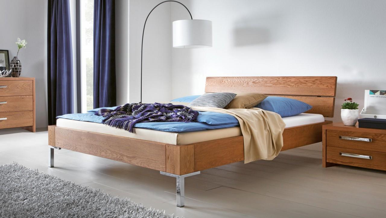 Full Size of Designer Betten Eiche Massivholzbett Oak Line Modernes Design Bett Von Hasena Mit Aufbewahrung Teenager Luxus Team 7 Paradies Innocent Französische Dico Treca Bett Designer Betten