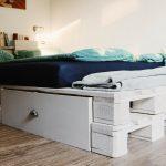 Paletten Bett 140x200 Bett Paletten Bett 140x200 Palettenbett Selber Bauen Kaufen Europaletten Betten 120x200 Stauraum überlänge 200x180 Mit Bettkasten Meise Holz Japanisches