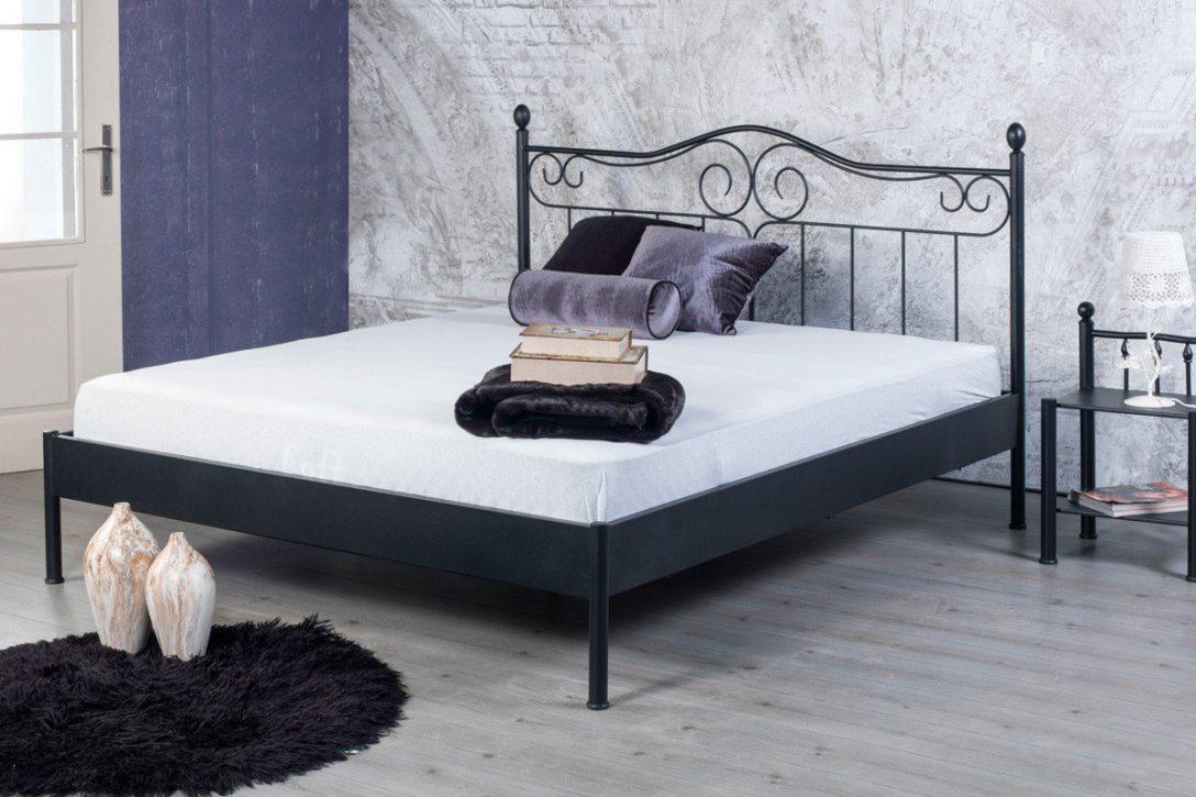 Large Size of Bed Boalessia 1021 Bett Schwarz Metall 120 200 Mbel Letz Betten 180x200 Günstig Kaufen Wohnwert Schramm Ruf Fabrikverkauf 90x200 Ikea 160x200 Ausgefallene Bett Betten 120x200