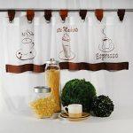 Gardinen Für Die Küche Küche Bistro Gardine Kche Coffee Time Mit S Real Bilder Fürs Wohnzimmer Tapeten Für Die Küche Billig Lüftung Was Kostet Eine Neue Folie Fenster Billige