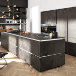 Nolte Küche Küche Nolte Küche Magnettafel Landhaus Vollholzküche Wandbelag Vinylboden Wasserhähne Eckschrank Handtuchhalter Polsterbank Aufbewahrung Grau Hochglanz