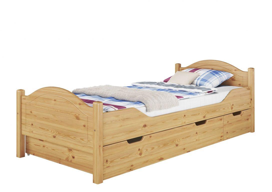 Large Size of Betten 100x200 Massivholz Bett Kiefer Natur Einzelbett Rollrost Matratze Trends Bock Luxus De Billige Jabo Kinder überlänge 200x220 Landhausstil Somnus Bett Betten 100x200