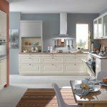 Landhausküche Bauformat Landhauskche L Kche Holz Arbeitsplatte Wandschrank Glas Grau Moderne Weiß Gebraucht Weisse Küche Landhausküche