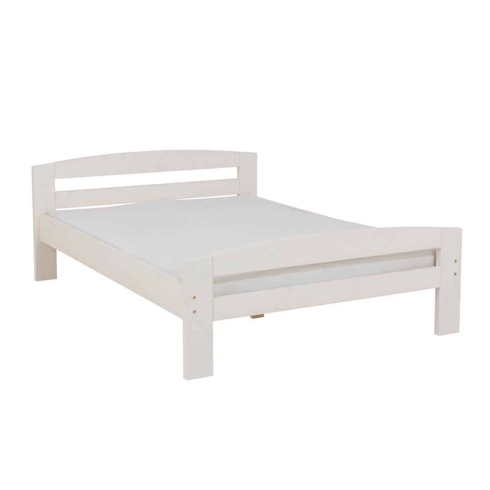 Jugendbett Wei Lackiert Bett Simon 90x200 Cm Preiswert Danisches