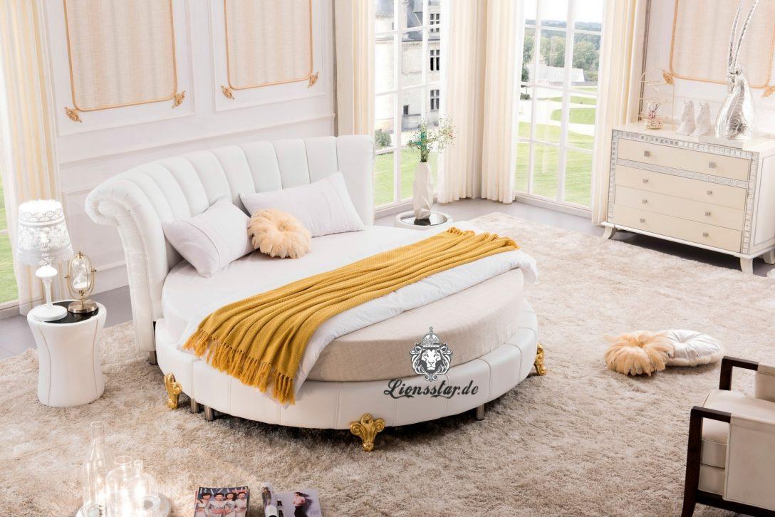 Large Size of Rundes Designer Bett Wei Lionsstar Gmbh Funktions Sonoma Eiche 140x200 Inkontinenzeinlagen Kopfteil Bette Starlet Weißes 120 X 200 Amerikanische Betten Bett Rundes Bett