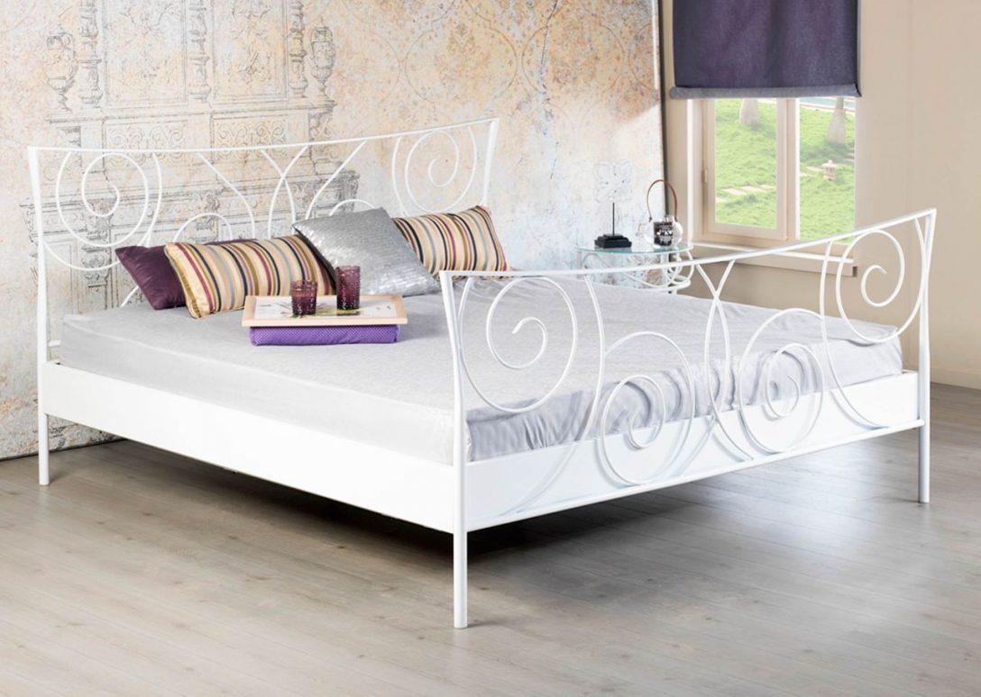 Large Size of Bett Metall Sofia Wei Romantisches Metallbett In Vielen Gren 160x200 Tatami Tagesdecken Für Betten Holz Nolte Mit Matratze Und Lattenrost 140x200 Hohes Bett Bett Metall