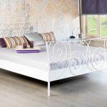 Bett Metall Sofia Wei Romantisches Metallbett In Vielen Gren 160x200 Tatami Tagesdecken Für Betten Holz Nolte Mit Matratze Und Lattenrost 140x200 Hohes Bett Bett Metall