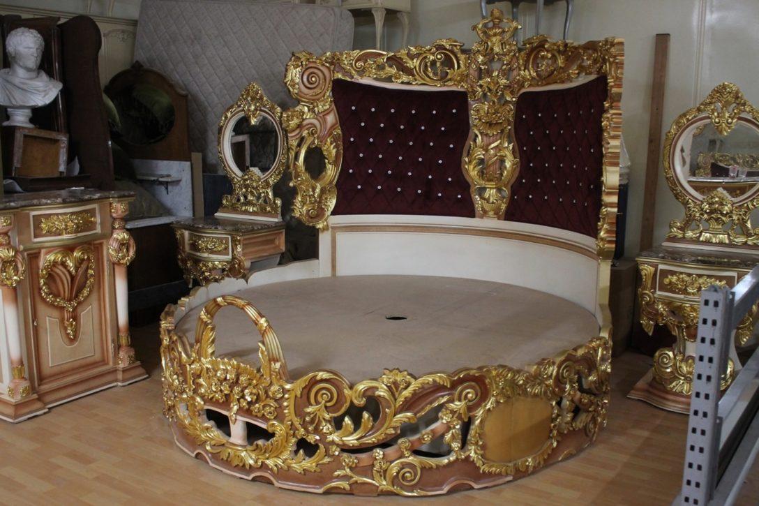 Large Size of Barock Bett Rokoko Doppelbett Rund Gold Mkbd2000 Antik Stil Dänisches Bettenlager Badezimmer Mit Rückenlehne Paradies Betten Ausklappbar Aufbewahrung 180x200 Bett Barock Bett