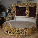 Barock Bett Bett Barock Bett Rokoko Doppelbett Rund Gold Mkbd2000 Antik Stil Dänisches Bettenlager Badezimmer Mit Rückenlehne Paradies Betten Ausklappbar Aufbewahrung 180x200