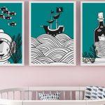 Wandbilder Wohnzimmer Wohnzimmer Wandbilder Wohnzimmer 3er Set Unter Dem Meer Deckenlampen Sofa Kleines Deckenleuchten Tischlampe Indirekte Beleuchtung Liege Kamin Teppich Deko Landhausstil