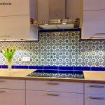 Wandfliesen Küche Küche Mexikanische Fliesen Küche Bunt Handbemalt Von Mexambiente