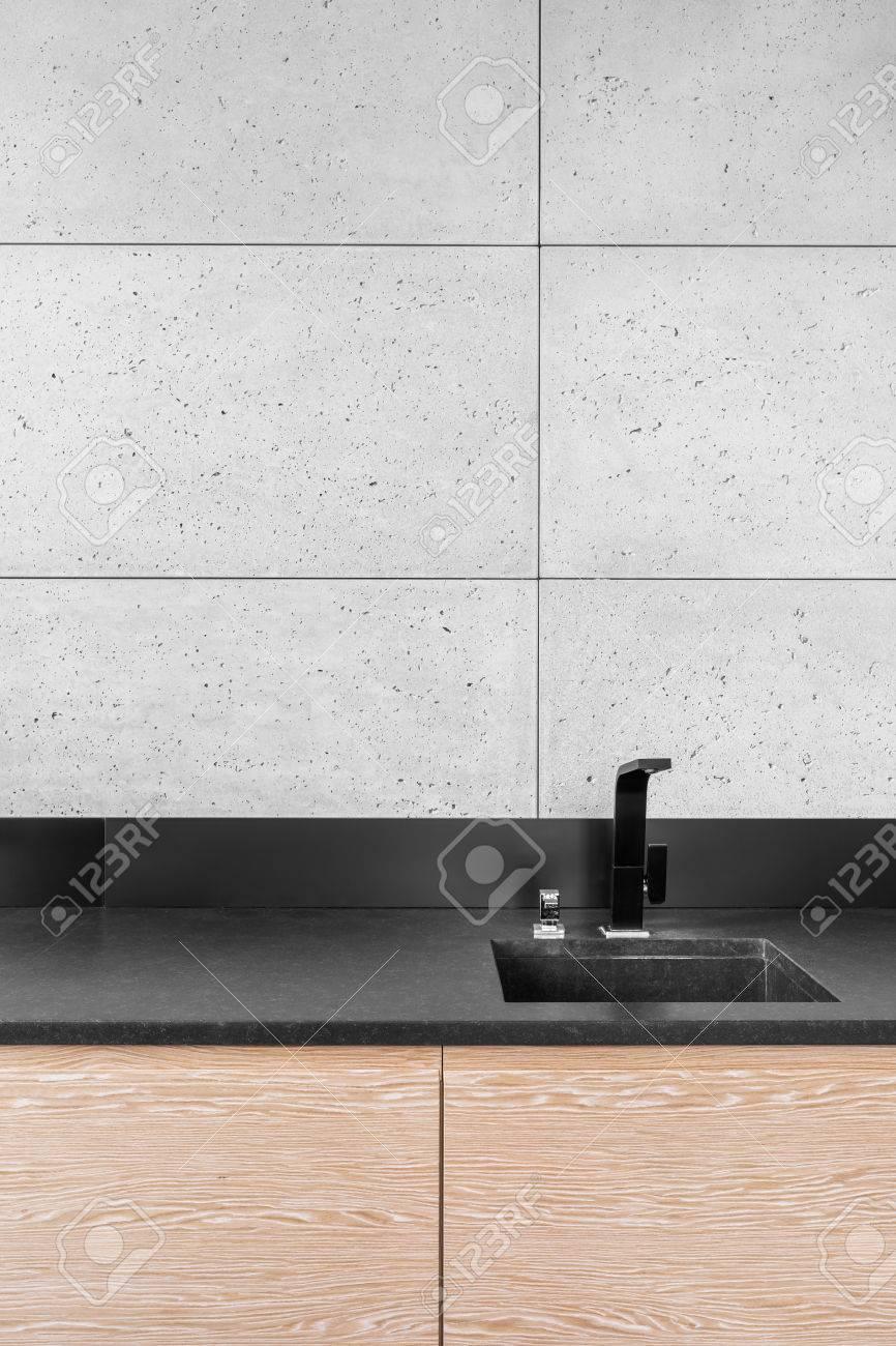 Full Size of Modern Kitchen With Grey Tiles Küche Wandfliesen Küche